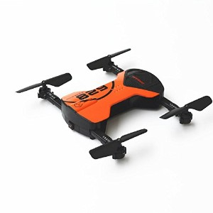 owillホット2.4G 4CH Altitude Hold HDカメラWiFi FPV RCクアッドコプターFolding Cool形状Pocket Drone One Size オレンジ...