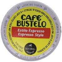 Cafe Bustelo K-cup Packs, Espresso Style, 24 Count by Cafテδゥ Bustelo