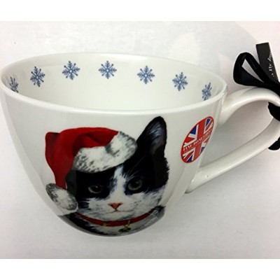 "Portobello By Inspire Holidayボーンchinatuxedo Cat Mug For The "" CAT LOVER """