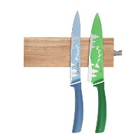 hecef hfg441154 magnetic-knife-strips、ブラウン 6 inch HF441153