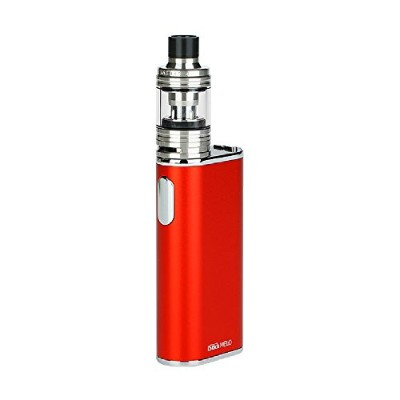 Eleaf iStick Melo 60W with Melo 4 TC Kit 4400mAh強力なvapingスターターキット(60W iStick Melo TCボックスMODと2ml Melo 4サブオムタンクを含む) … (Red)