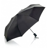 Travel Smart by Conair Mini Umbrella, Black- Light Compact Design makes it perfect for Travel by...