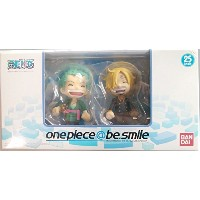 one piece@be.smile セブンイレブン限定 ゾロ&サンジセット