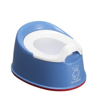 BABYBJORN Smart Potty - Blue by BabyBjテδεつカrn [並行輸入品]