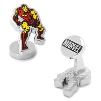Marvel Iron Man Action Cufflinks、公式ライセンス