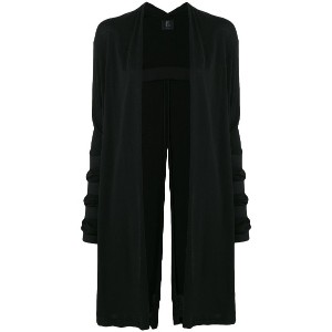 Lost & Found Ria Dunn midi coat - ブラック