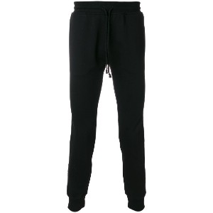 Les (Art)Ists casual fit track trousers - ブラック