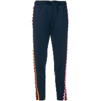 Mira Mikati wave ribbon track pants - ブルー