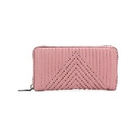 Coach accordion zipped wallet - ピンク&パープル