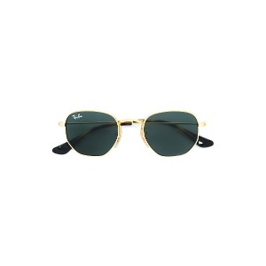 Ray Ban Junior round sunglasses - メタリック