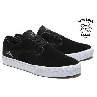 【LAKAI×HARD LUCK】RILEY HAWK  Riley Hawk SignatureModel カラー:black suede 【ラカイ】【スケートボード】【シューズ】