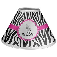 Zebra Personalized Lamp Shade - Coolie Shade by RNK Shops