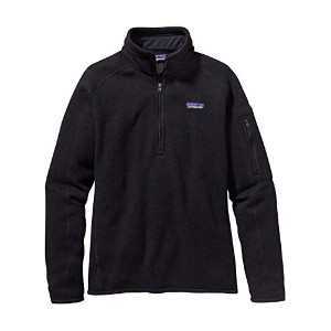 パタゴニア(patagonia) W's Better Sweater 1/4 Zip 25617 (S, Black//Black(BLK))