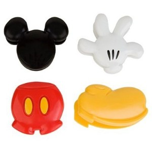 """Disney Parks Exclusive : Mickey Mouse """"ボディパーツ""""クリップマグネット"""