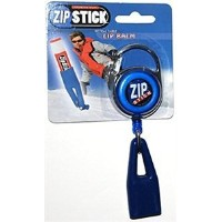 Clip-On Retractable ZIP Stick - Blue (Extends 32 Inches) Fits all Standard Stick-Type Lip Balms and...
