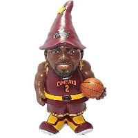 """High Qualityers Kyrie Irving #2 Resin Player Gnome, 8"""", Team Color"""