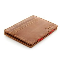 (ミニマリスト 財布) Jaimie Jacobs Men s Magic Wallet Flap Boy Slim Genuine Leather