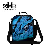 Creativebags Animal Lunch Bag With Water Pocket for School Kids Adults Outdoor Work Office by...