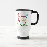 Zazzle I Love My Abuelo ( Handprints )コーヒーマグ 15 oz, Travel/Commuter Mug 5cabad3f-b330-cf55-db24...