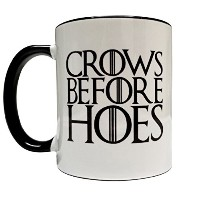 Crows Before Hoes 11オンスGrade A品質セラミックマグ/カップ – Inspired by Game of Thrones The Nights Watch –...