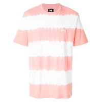 Stussy striped style T-shirt - イエロー&オレンジ