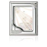 Silver Touch USA Sterling Silver Picture Frame, Baptism, 5 X 7 by Silver Touch USA