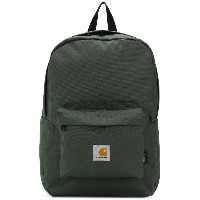 Carhartt logo patch backpack - グリーン