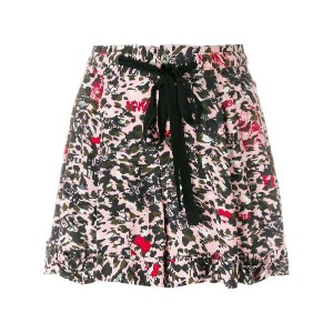 Zadig & Voltaire print fitted shorts - ピンク&パープル