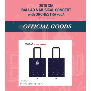 JYJ 2015 XIA BALLAD MUSICAL CONCERT with ORCHESTRA vol.4 公式グッズ エコバッグ ECO BAG