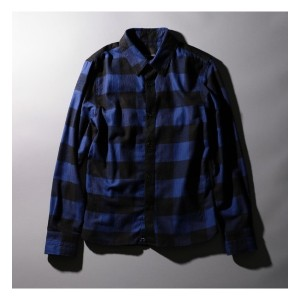 【NUMBER (N)INE DENIM×LOVELESS・GUILD PRMIE 】MENS COLLABORATION FLANNEL SHIRT【ギルドプライム/GUILD PRIME メンズ...
