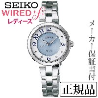 SEIKO ワイアード WIRED WIRED f 女性用 アナログ 腕時計 正規品 1年保証書付 AGED086