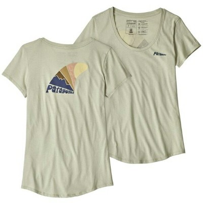 patagonia パタゴニア Ws Skeg Set Organic Scoop T-Shirt/DTSG/XL 39190女性用 グレー