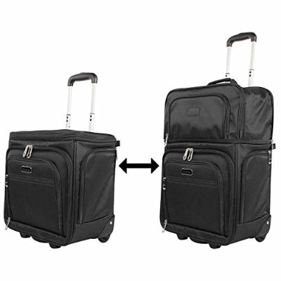 Ciao Luggage Carry OnスーツケースWheeled飛行機ウィークエンダーunder the seat bag