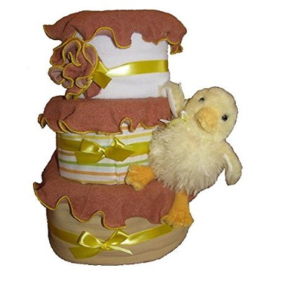 Create-A-Gift 3-Tier Marble Baby Cake by Create-A-Gift