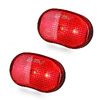 BV Bike 3-LED Rear Safety Tail Light, Bicycle, PAIR by BV USA