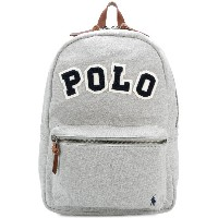 Polo Ralph Lauren patch embroidered backpack - グレー