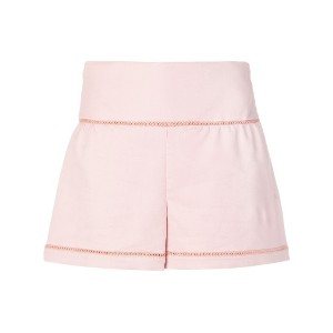 Red Valentino high-waisted shorts - ピンク&パープル
