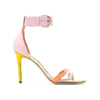 Emilio Pucci strappy colour-block sandals - マルチカラー