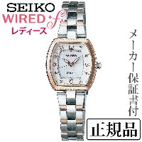 SEIKO ワイアード WIRED WIRED f 女性用 アナログ 腕時計 正規品 1年保証書付 AGED090