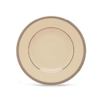 Lenoxタキシードplatinum-banded 5-piece Place Setting Butter Plate ブラック 110901020