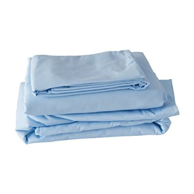 Hospital Bed Sheet Set, Blue 海外直送