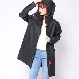 ハンター HUNTER W ORI R RUB HUNTING COAT (BLK)