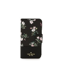 kate spade new york/ケイト・スペード  IPHONE CASES FLORA WRAP FOLIO-X(8ARU2458) BLK/MULTI(002) 【三越・伊勢丹/公式】...
