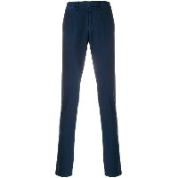 Dondup slim fit casual trousers - ブルー