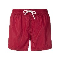 Entre Amis drawstring swim shorts - レッド