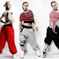HIPHOP Men Women Casual Harem Baggy Dance Sport Sweat Pants Trousers Slacks