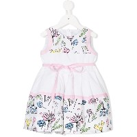 Simonetta printed party dress - ホワイト