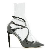 Off-White x Jimmy Choo Claire 100 パンプス - ブラック