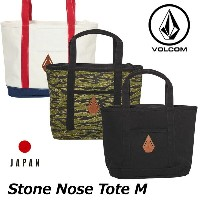 volcom ボルコム トートバッグ Stone Nose Tote M メンズ japan limited D65118JL