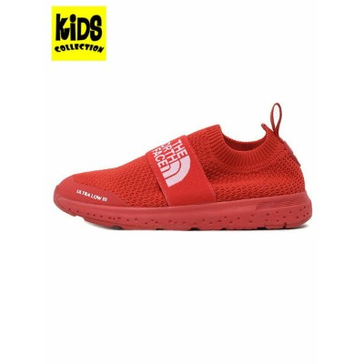 【KIDS】THE NORTH FACE K ULTRA LOW III【NFJ51847-HR-RED】